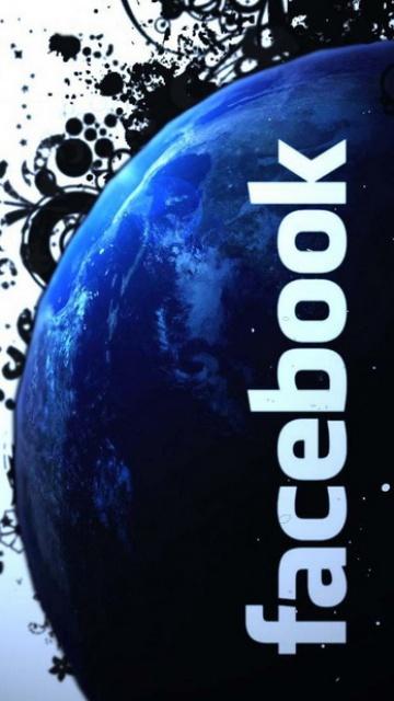 Картинка Фэйсбук (Facebook) 360x640 для телефона