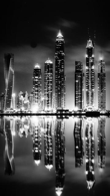 картинки на телефон город ночной