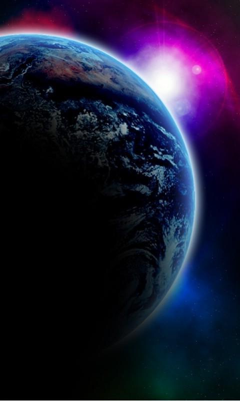 Картинка Земля (Earth) 480x800 для телефона