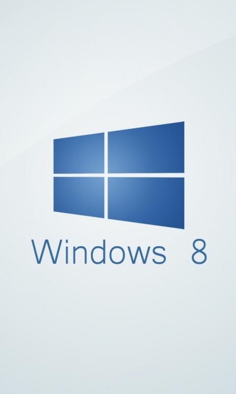 Картинка Виндовс 8 (Windows 8) 480x800 скачать бесплатно