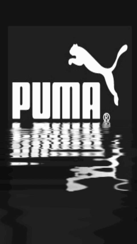 Картина логотип Пума (Puma logo) 480x854 для смартфона