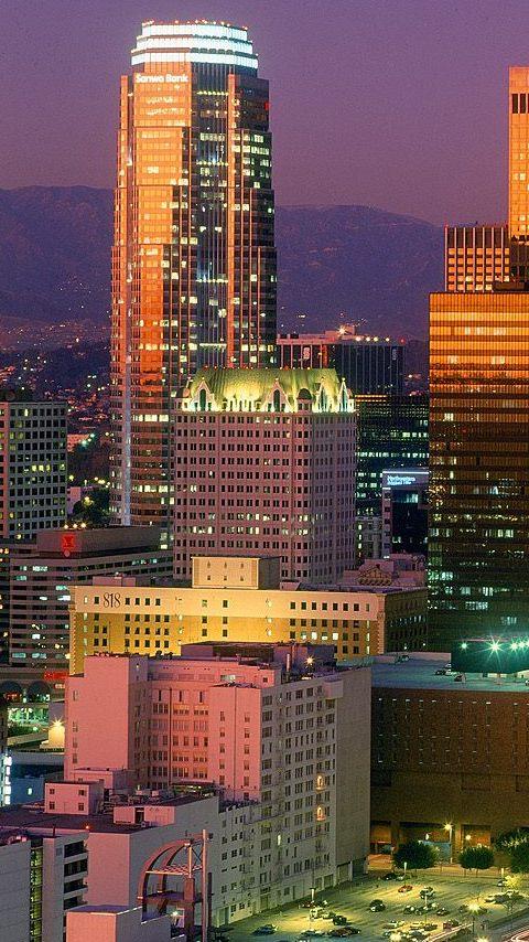 Картинка Лос-Анджелес (Los Angeles) 480x854 для телефона
