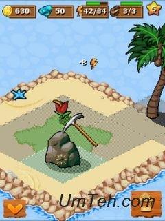 Игра Treasure paradise на телефон