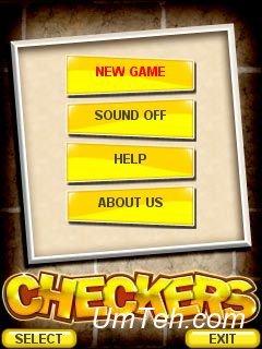 Игра Шашки (Checkers) на телефон