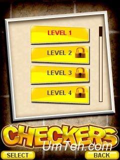 Игра Шашки (Checkers) на смартфон