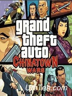 Игра Великий автоугонщик: Разборки в китайском квартале MOD (Grand theft auto: Chinatown wars MOD) скачать
