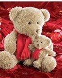Картинка два плюшевых мишки (two teddy bears) 128x160 скачать
