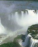 Картинка огромный водопад (huge waterfall) 128x160 для телефона