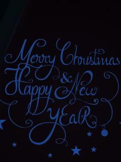 Картинка Christmas wishes 240x320