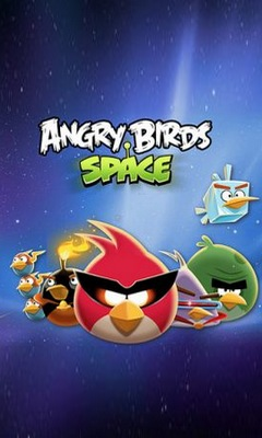 Angry birds space 240x400
