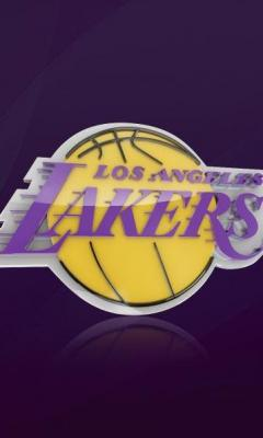 Картинка Los Angeles Lakers 240x400