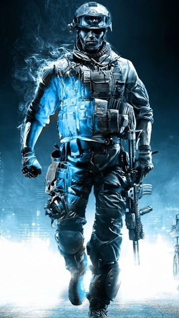Картинка Battlefield 360x640