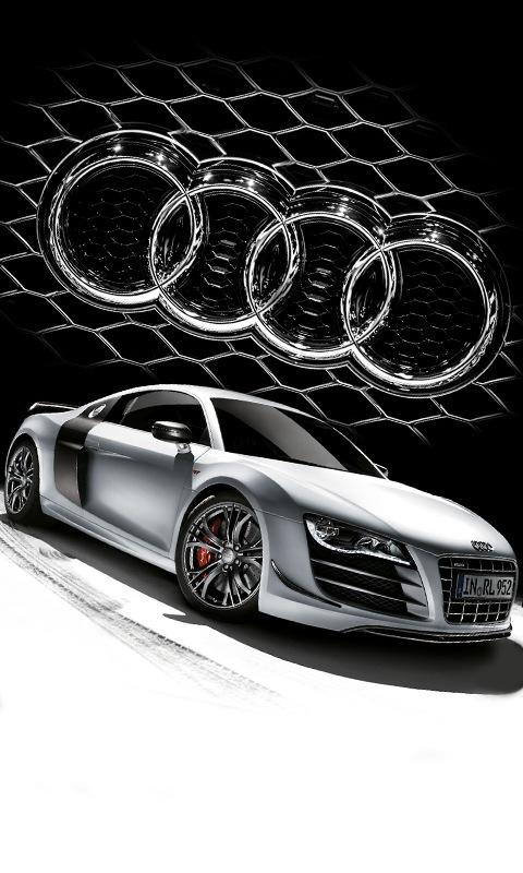 Картинка Audi R8 GT 480x800
