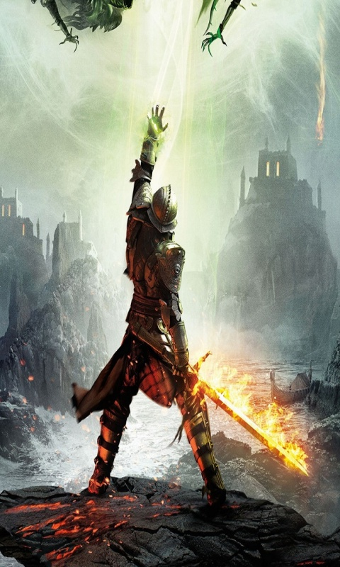Картинка Dragon Age Inquisition 480x800