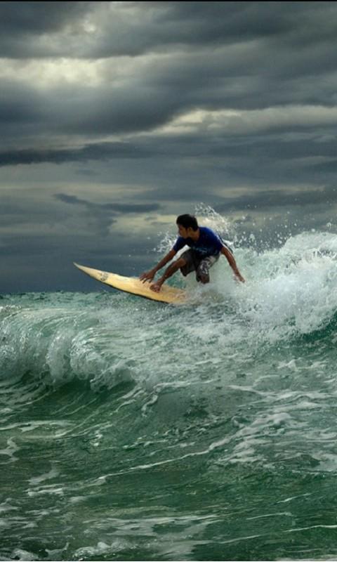 Картинка surfing 480x800