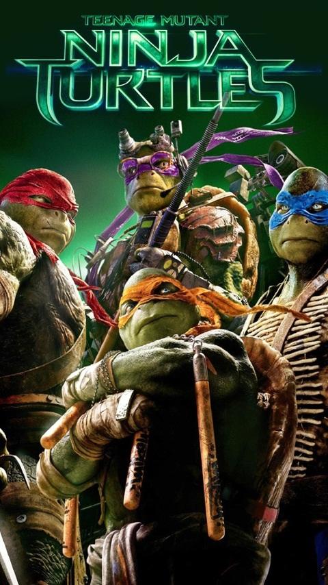 Картинка teenage mutant ninja turtles 480x854