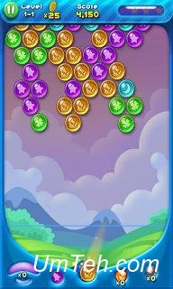 Игра Взрыв пузырей! Взрывающиеся планеты (Bubble bust! Popping planets) скачать