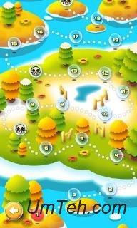 Игра Взрыв пузырей! Взрывающиеся планеты на телефон