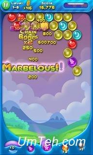 Игра Взрыв пузырей! Взрывающиеся планеты на Андроид
