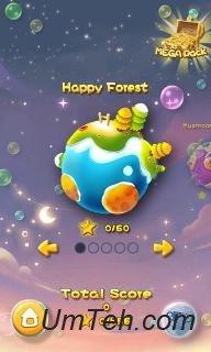 Игра Взрыв пузырей! Взрывающиеся планеты на планшет