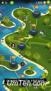 Игра Профессиональное чувство гольфа (Pro feel golf) на телефон