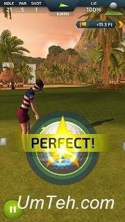 Игра Профессиональное чувство гольфа (Pro feel golf) на Android