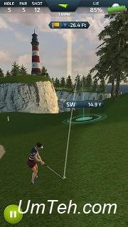 Игра Профессиональное чувство гольфа (Pro feel golf) для планшета
