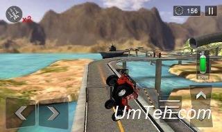 Игра Экстремальные трюки на квадроциклах 2015 (Extreme quad bike stunts 2015) скачать на планшет