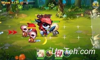 Knight saga: Sword and fire (Рыцарская сага: Меч и огонь) на планшет