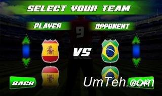 Игра Настоящий футбольный турнир (Real football tournament game) на телефон
