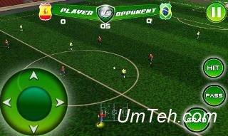 Игра Настоящий футбольный турнир (Real football tournament game) для Android