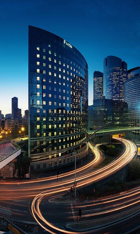 Картинка париж, выдержка, вечер, город, здания, огни 480x800 для телефона