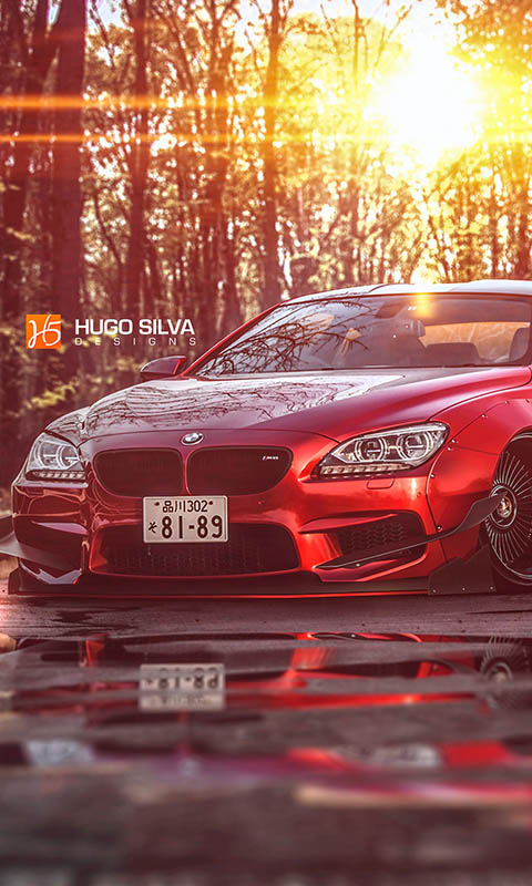 Картинка BMW M6, body kit, photoshop, Coupe F13 480x800