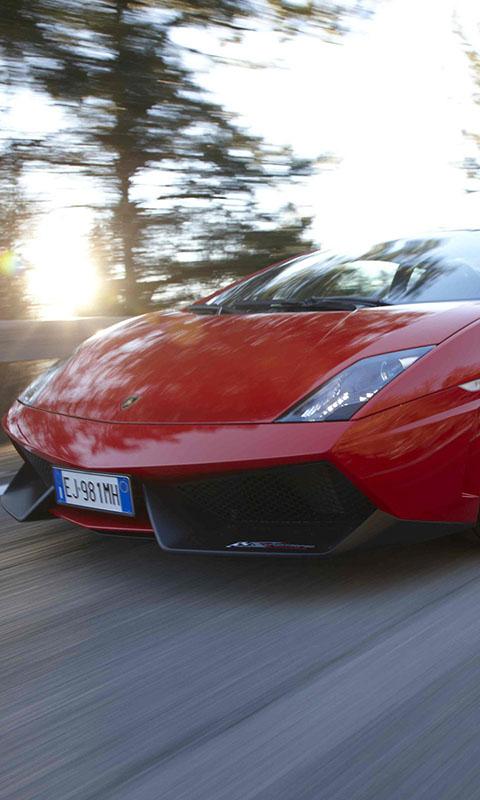 Картинка top gear, Gallardo, красный, самая лучшая телепередача, LP570-4, supercar, топ гир, суперкар, дорога 480x800