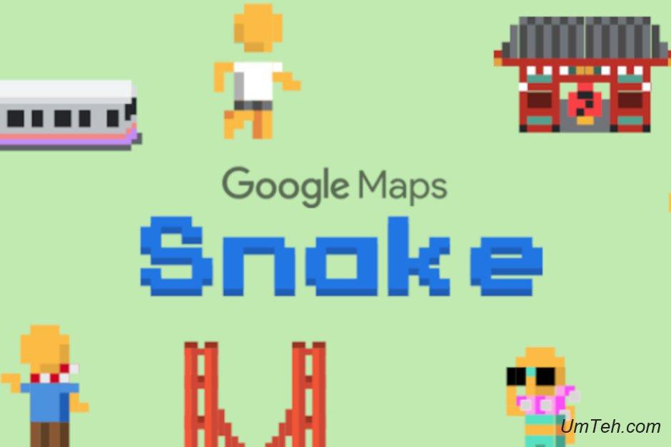 В Google Maps доступна классическая игра Nokia Snake