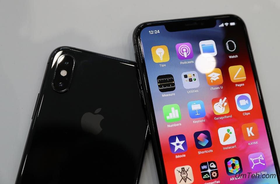 iPhone XS: где найти процент батареи