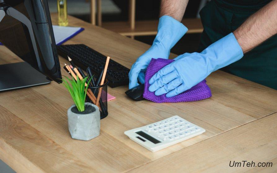 Ваша клавиатура и мышь грязные. Вот как их можно почистить
