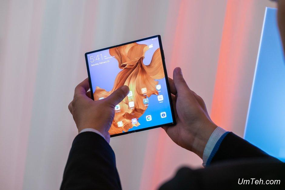 Huawei Mate X выпустят без задержек, в отличии от Galaxy Fold