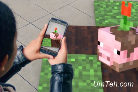 Microsoft готовит игру Minecraft AR для смартфонов