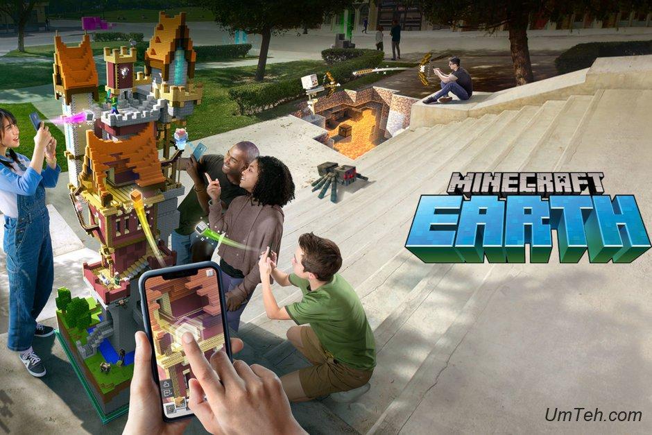 Microsoft объявляет о закрытой бета-версии Minecraft Earth, iOS получает ее первой
