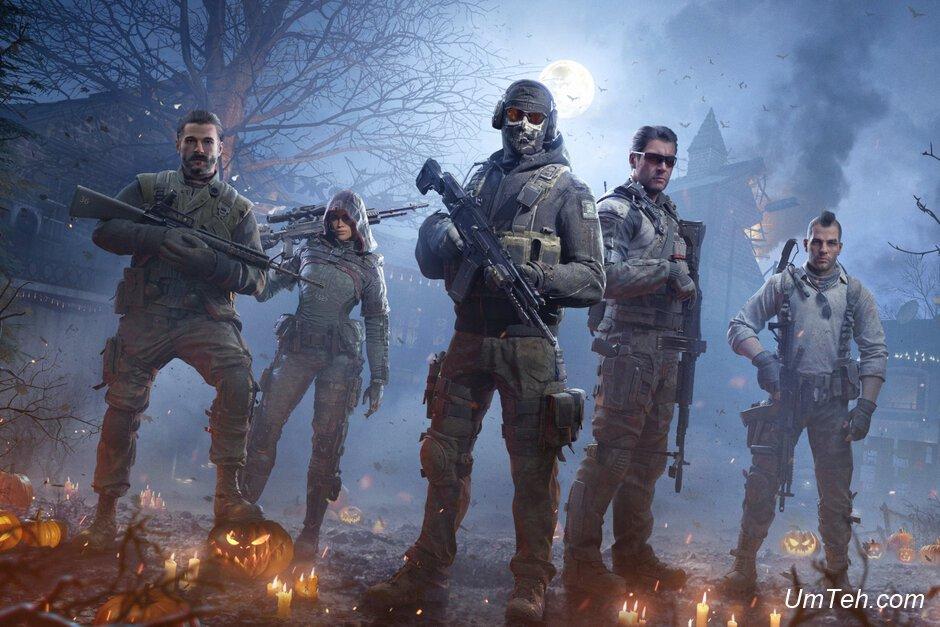 Call of Duty: Mobile получает свое первое сезонное событие как раз к Хэллоуину