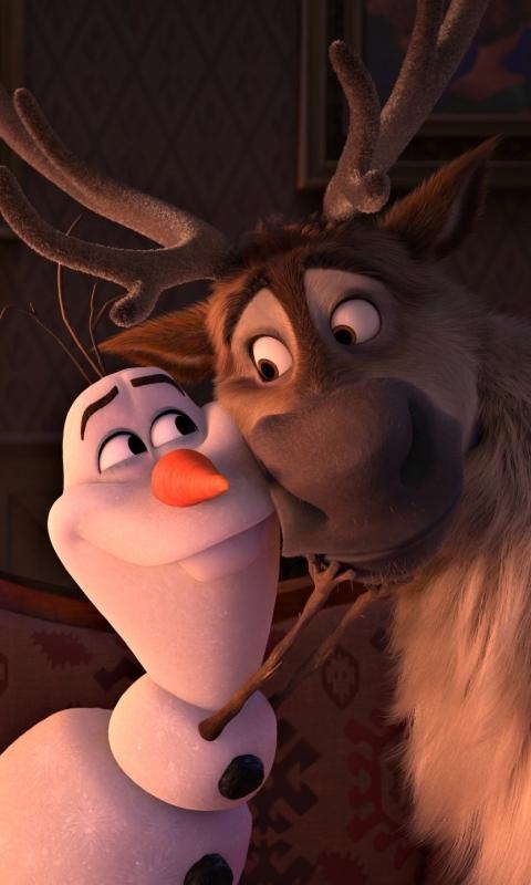 Анимационный фильм, Ледяная Сердце 2, Холодное сердце 2, Олень Свен, Снеговик Олаф