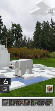 Minecraft Earth на Андроид скачать