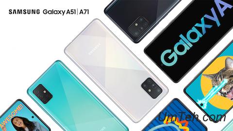 Galaxy A51 и Galaxy A71
