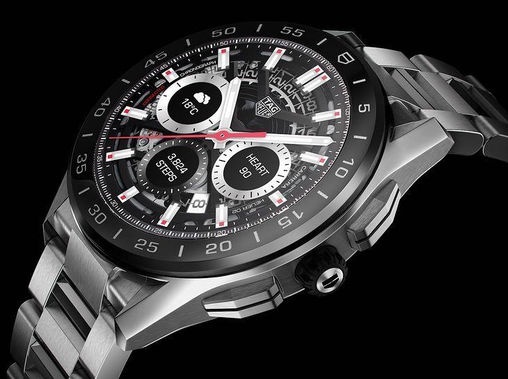 роскошные умные часы от TAG Heuer