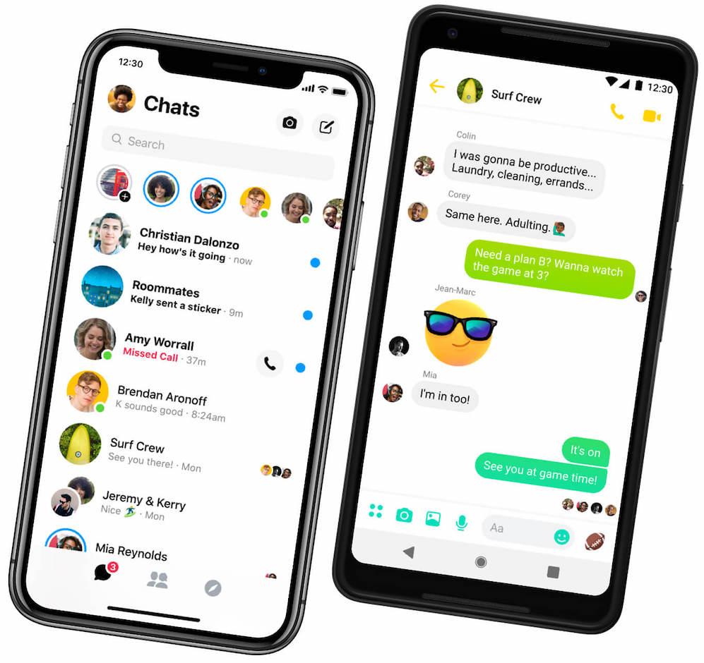 Разговор по видео в приложении Messenger на вашем телефоне