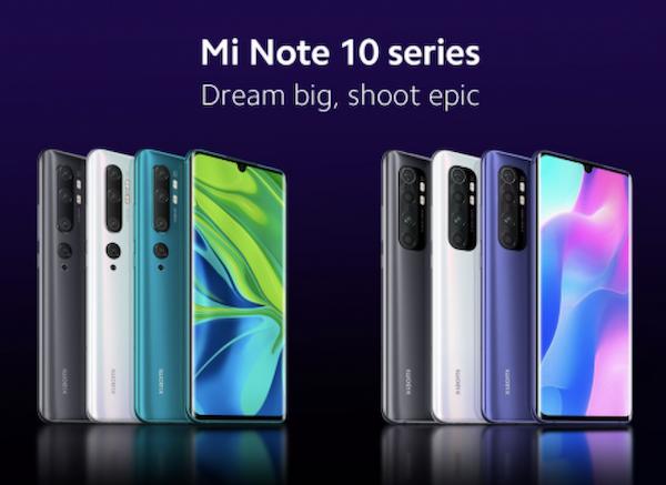 Премьера смартфона Xiaomi Mi Note 10 Lite
